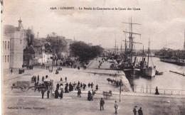 56 - Lorient -  Le Bassin De Commerce Et Le Cours Des Quais - Lorient
