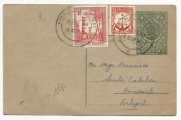 PAKISTAN - 1958 - CARTE ENTIER De RAWALPINDI Pour AMARANTE (PORTUGAL) - Pakistan