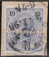 Ostereich           Yvert     50 A  Perforation!            O               Gebraucht  /  Cancelled - Usati