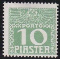 Osterreich - Levant          Yvert   Taxe   12        *           Ungebraucht Mit Falz  /   Mint-hinged - Nuovi