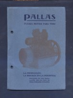*Pallas - P. Turull Cuadras. Barcelona* Tapas Y 44 Pags. Meds: 131 X 179 Mms. - Máquinas