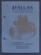 Barcelona. *Pallas - P. Turull Cuadras* Tapas Y 44 Pags. Meds: 131x179 Mms. - Máquinas