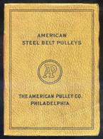 *The American Pulley Cº - American Steel Belt Pulleys 1915* Tapas Y 48 Pags. Meds: 145 X 197 Mms. - Máquinas