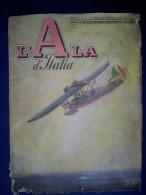 M#0P35 L´ALA D´ITALIA RIVISTA FASCISTA AVIAZIONE 1939/CAPRONI/CINEMA NELL´AVIAZIONE - Aviazione
