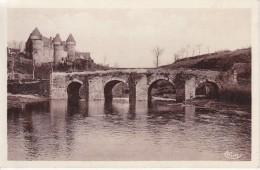 Culan Le Pont Romain Et Le Château - Culan