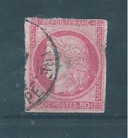 Colonie Type Ceres  Timbre De 1872/77  N°21  Oblitéré ( Cote 170€ ) - Ceres