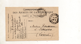 FRANCE CARTE EN FRANCHISE DU 26 AVRIL 1916 POUR PITHIVIERS - Military Service Stampless