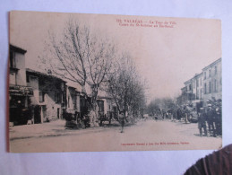 Cpa 84 Valreas Le Tour De Ville Cours Du Saint Antoine En Bertheuil - Valreas