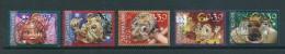 2002 Netherlands Complete Set Efteling Used/gebruikt/oblitere - Periode 1980-... (Beatrix)