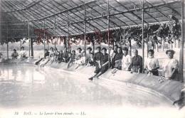 (40) Dax - Le Lavoir D'eau Chaude - Lavandières Laveuses - 2 SCANS - Dax