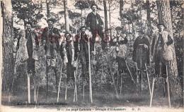 (40) Landes - Groupe D'Echassers Echasses - 2 SCANS - Non Classés