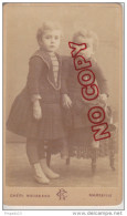 Au Plus Rapide CDV Chéri Rousseau Marseille Portrait Enfant Jouet - Old (before 1900)