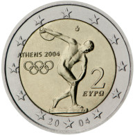 Greece 2 Euro Comm. 2004 UNC - Grèce