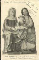 Gouezec Chapelle N D De Treguron Ste Anne La Vierge Et L Enfant Jesus - Gouézec