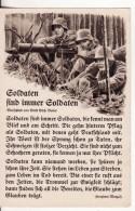 Carte Postale Militaire Allemand  Propagande Guerre 39/45 Krieg Mitrailleuse-Maschinengewehr- Dessin Tenue Casque - Guerre 1939-45