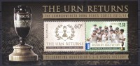 Australia 2014 Cricket Ashes - The Urn Returns MS MNH - Ongebruikt