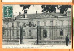MAI089, Bourges, L'Etat-Major D'Artillerie, Animée,121,  Circulée 1910 - Bourges