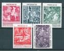 Monaco Serie De 1972  N°905  A  909  Neuf ** Parfait - Mónaco
