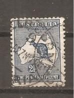 Australia. Nº Yvert  4a (A) (usado) (o) - 1913-36 George V : Heads