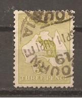Australia. Nº Yvert  5a (A) (usado) (o) - 1913-36 George V : Heads