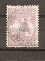 Australia. Nº Yvert  9a (A) (usado) (o) - 1913-36 George V : Heads