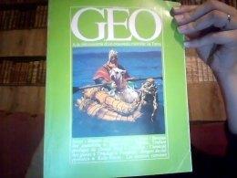 Geo Numero 24 Fevrier 1981 - Géographie