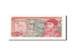 Mexique, 20 Pesos, 1969-1974, KM:64d, 1977-07-08, NEUF - Mexique