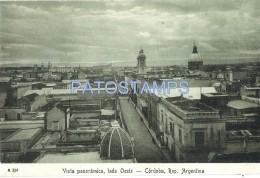 37610 ARGENTINA CORDOBA VISTA PANORAMICA LADO OESTE POSTAL POSTCARD - Argentina