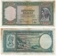 Grecia - Greece 1.000 Dracmas 1939 Pick 110.a Ref 546 - Grecia