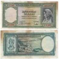 Grecia - Greece 1.000 Dracmas 1939 Pick 110.a Ref 547 - Grecia