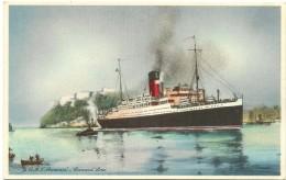R.M.S. ''Aurania'' - Cunard Line - Schiffe