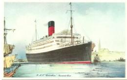 R.M.S. ´´Carinthia´´ - Cunard Line - Schiffe
