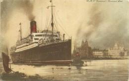 R.M.S. ´´Samaria´´ - Cunard Line - Bateaux