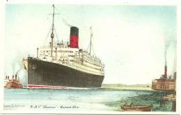 R.M.S. ´´Laconia´´ - Cunard Line - Bateaux