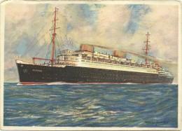 Norddeutscher Lloyd, - Bremen - Vierschrauben - Turbinen - Schnelldampfer ''Europa'' - Schiffe