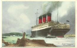 R.M.S. ''Berengaria'' - Cunard Line - Bateaux