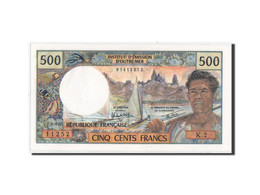 Tahiti, Papeete, 500 Francs, 1982, KM:25b2, Neuf - Billets