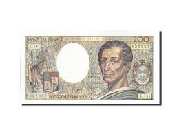 France, 200 Francs, 200 F 1981-1994 ''Montesquieu'', 1992, 1992, KM:155e, SPL... - 1962-1997 ''Francs''