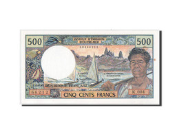 French Pacific Territories, 500 Francs, 1992, KM:1a - Billets