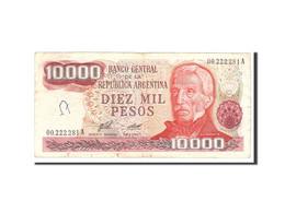 Argentine, 10,000 Pesos, 1976, KM:306a, Undated, TB - Argentine