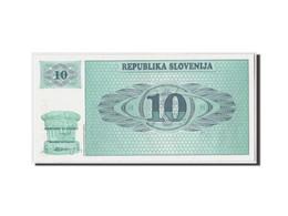 Slovénie, 10 (Tolarjev), (19)90, KM:4a, Non Daté, NEUF - Slovénie