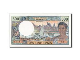 Tahiti, Papeete, 500 Francs, 1985, KM:25d, Neuf - Bankbiljetten