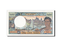Tahiti, Papeete, 500 Francs, 1985, KM:25d, Neuf - Banknotes