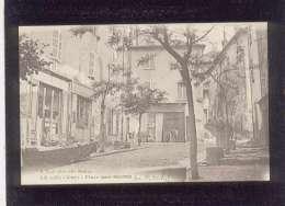 83 Le Luc Place Aux Herbes  ( Du Marché ) édit. Tardy Animée Marché Magasin Coiffeur , Bazar , Plaque émaillée KUB - Le Luc