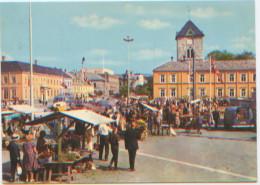 Norvège, Norge, Norway, Trondheim, Torget, Marché, Market Place, A Circulé En 1969, Ed. SAGA Kunstforlag AS N°1010 - Norvège