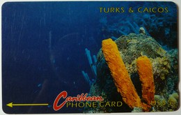 TURKS & CAICOS - GPT - 1CTCB - $10 - T&C-1B  - Used