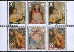 Yugoslavia, 2001, Joy Of Europe, Stamp-vignette-stamp, MNH (**) - 1992-2003 Federal Republic Of Yugoslavia