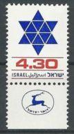 ISRAEL 1980 MI-NR. 821 ** MNH (156) - Nuovi (con Tab)