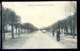 Cpa  Du 51  Marcilly Sur Seine -- Allée Des Charmilles   LIOB70 - France