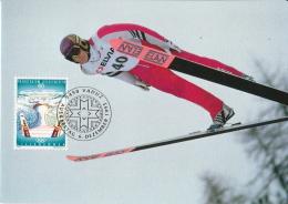 Liechtenstein Olympic Games Set On 3 Maximum Cards - Winter 1994: Lillehammer
